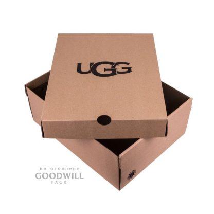 Коробка брендированная из микрогофрокартона фото