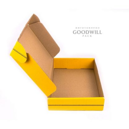 Коробка из микрогофрокартона для одежды