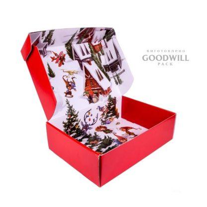 Коробка подарочная из микрогофрокартона с печатью фото