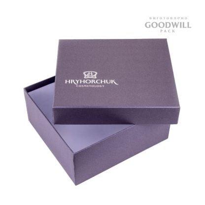 Коробка с обработкой дизайнерской бумагой