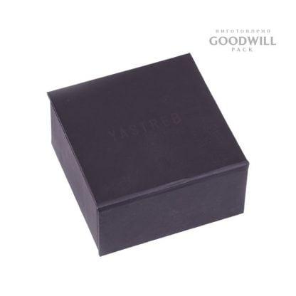 Коробка з шовкотрафаретним способом друку для прикрас фото