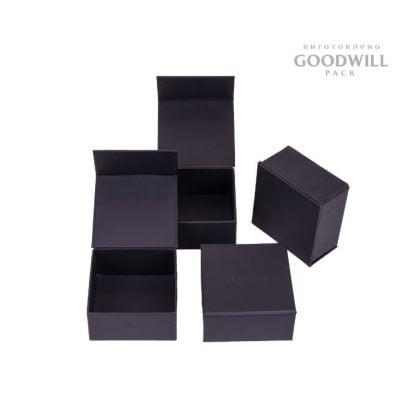 Коробки із палітурного картоні для прикрас фото