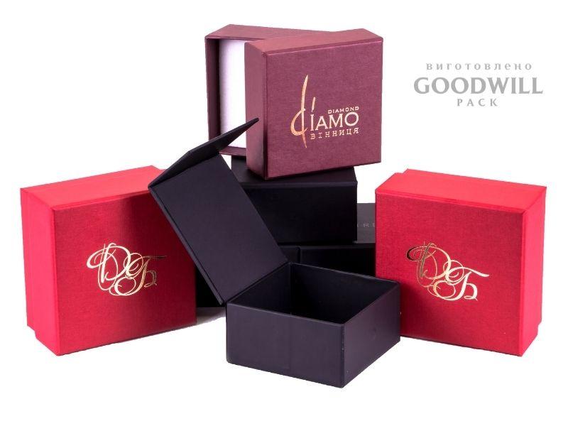 Коробки з логотипом компанії