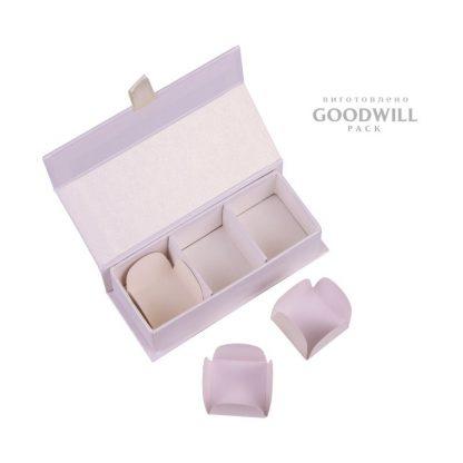 Коробка для конфет с ложементом фото